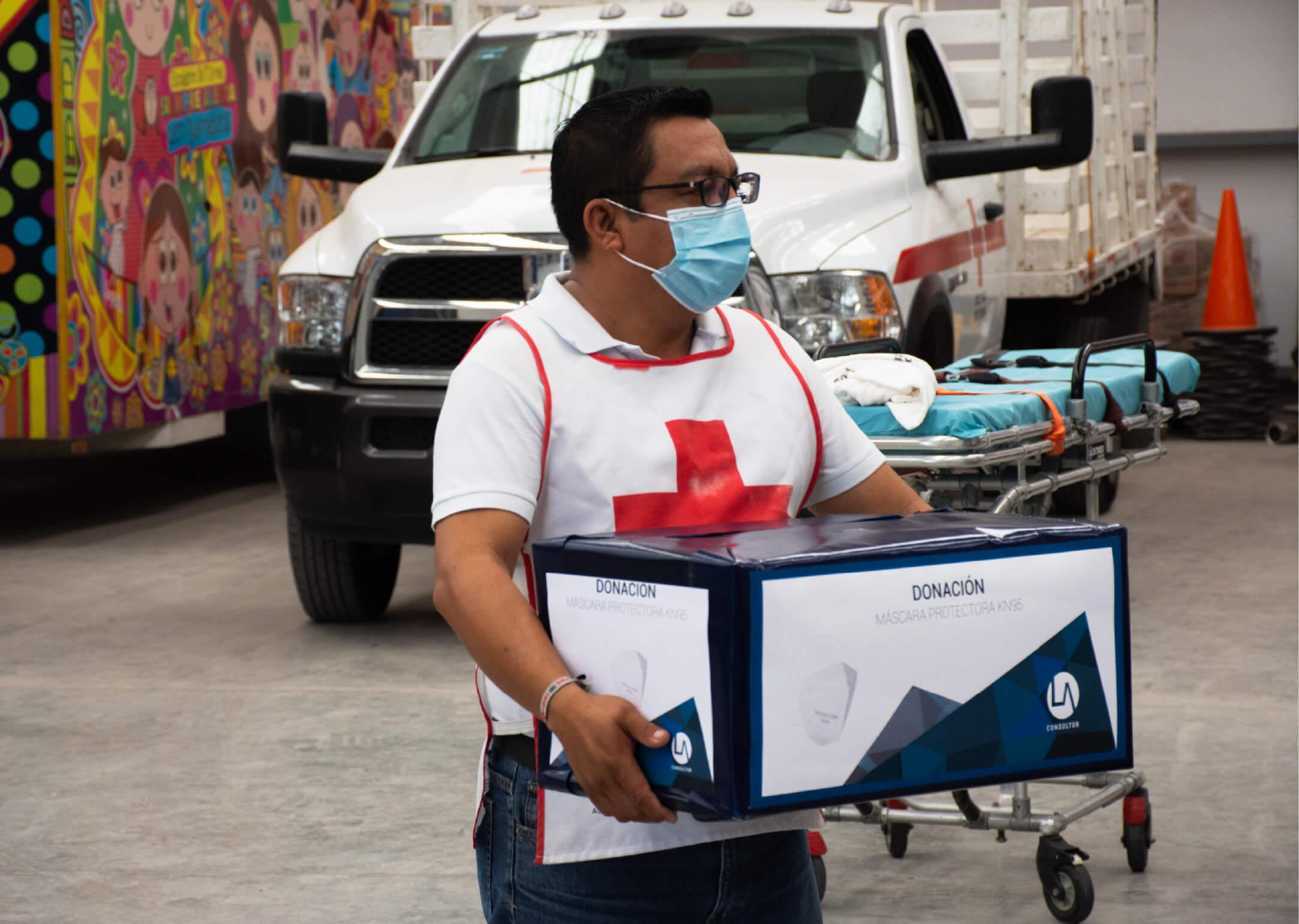 Read more about the article Donación de 1500 máscaras protectoras KN95